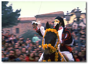 Images of the Sartiglia of Oristano