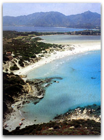 Villasimius - Simius beach